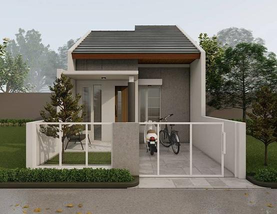 Tipe Rumah Sederhana untuk keluarga Kecil, tipe 36