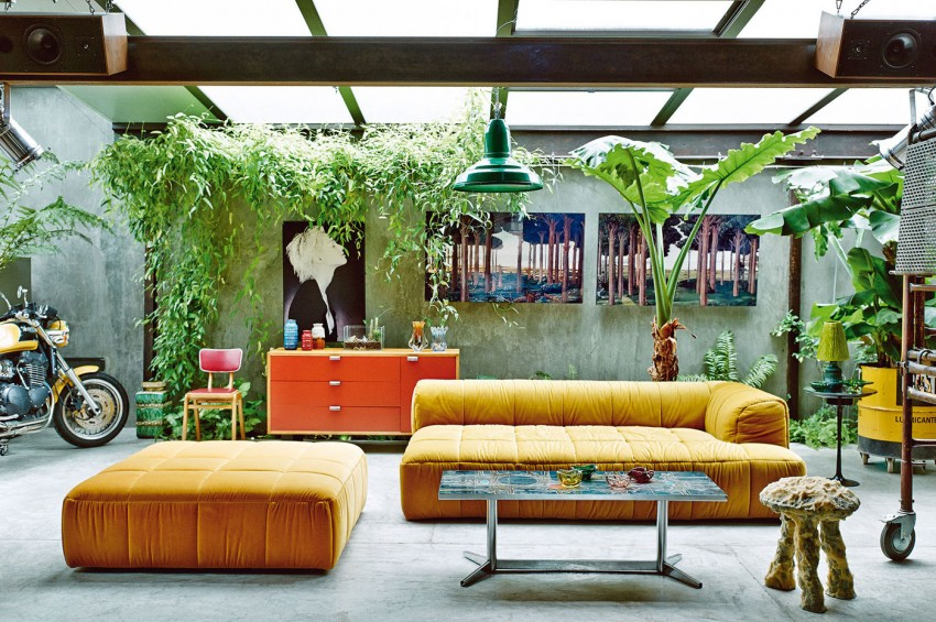 Desain Interior Vintage Terbuka