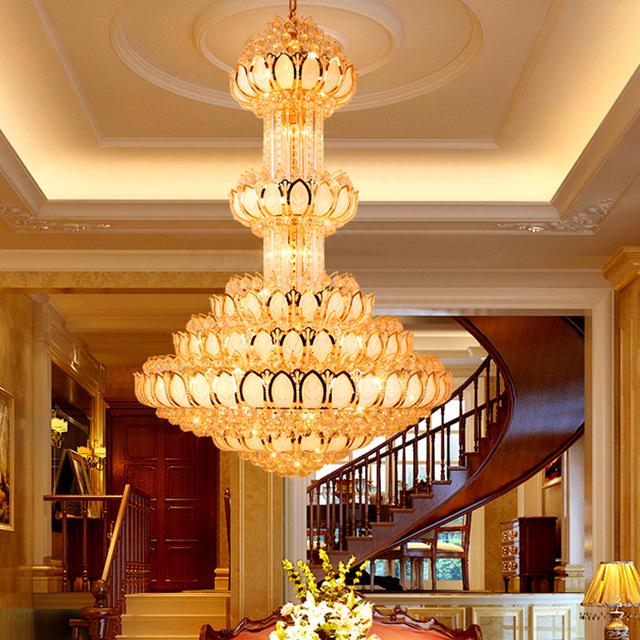 Pencahayaan lobi hotel