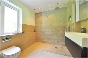 Ruangan Kaca untuk Shower
