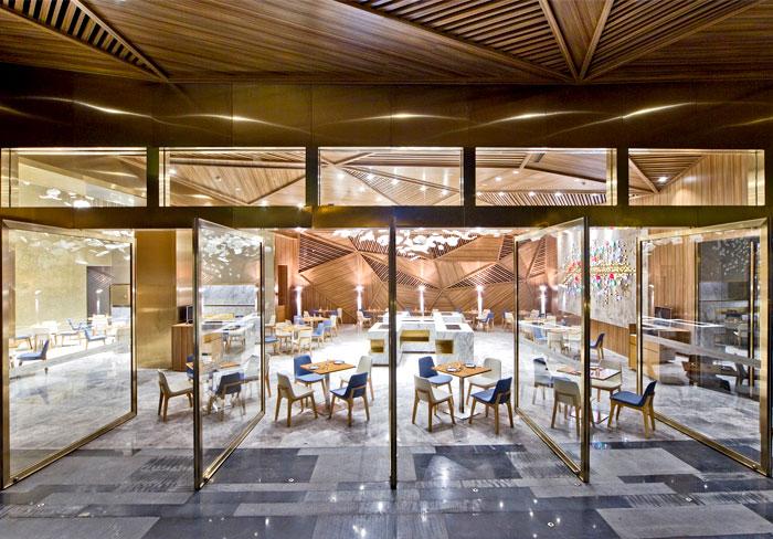 Tampilan Interior restoran
